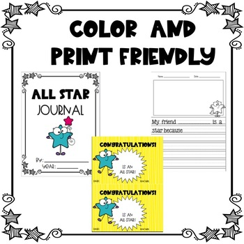 Star of the Week Pack-Editable, Color, Print Friendly