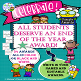 All Students Deserve An End Of The Year Award Sample Set