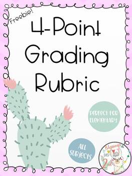 All Subject Elementary Grading Rubric