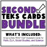 All Subject TEKS Bundle Grade 2