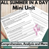 All Summer In A Day Complete Unit (Comprehension and Liter