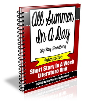 All Summer In A Day By Ray Bradbury Short Story Literature