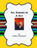 All Summer In A Day Lesson Plan