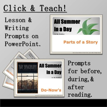 All Summer in a Day by Ray Bradbury Short Story Complete Unit of Study