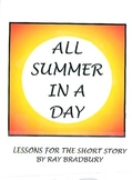 "Short Story: ""All Summer in a Day"" Lesson Materials"