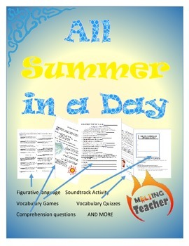 All Summer in a Day Reading Packet