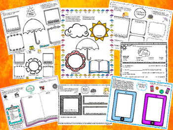 """""""All Summer in a Day"""" Resources: Text-Dependent ?'s, Organizers, Writing & More!"""