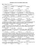 All Summer in a Day by Ray Bradbury 50 Question Objective Quiz