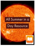 All Summer in a Day short story resource