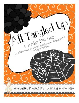 All Tangled Up!  A Spider Supplemental Mini Unit
