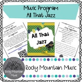 All That Jazz Music Program