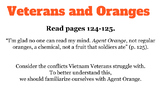All The Broken Pieces - Agent Orange: Presentation and Article