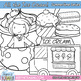 All The Ice Cream Clip Art Set - A variety of Fun Ice Cream Themed Clipart!