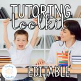 Editable Tutoring Business Binder and Toolkit