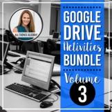 All Things Algebra® - Digital Activities Bundle for Google Slides™ - VOLUME 3