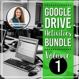 All Things Algebra® - Google Drive Activities Bundle - VOLUME 1