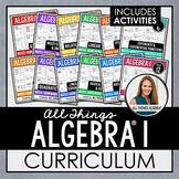 Algebra 1 Curriculum (with Activities)