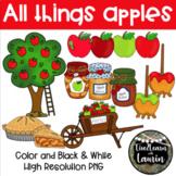 All Things Apples (Apple Clip Art Set)