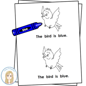 All Things Blue Emergent Reader