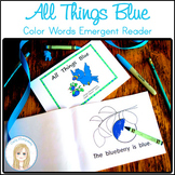 All Things Blue Book: Color Word Emergent Reader