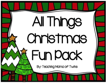 All Things Christmas Fun Pack