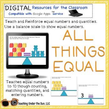 All Things Equal, Equal Sign, Balance Equations, Google, Math, Digital,