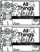 All Things Irish {My Little Book} St. Patrick's Book Kinder and First Grade
