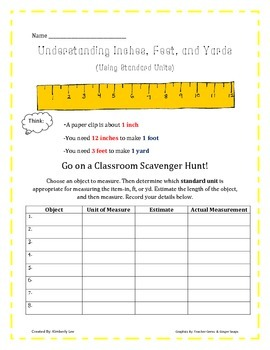 All Things Measurement-2nd Grade!