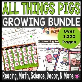 PIGS Year Long Classroom Bundle