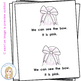 All Things Pink Color Words Emergent Reader