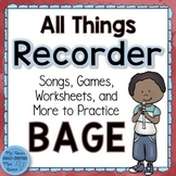 Recorder Bundle: All Things BAGE