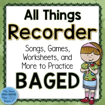 Recorder Bundle: All Things BAGED