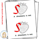 All Things Red Color Words Emergent Reader