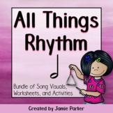 Half Note Music Bundle: All Things Rhythm (Bundle of Songs