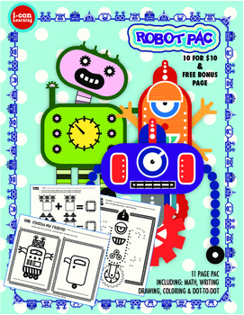 All Things Robots 10 for $10 Pac