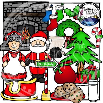 Santa Clipart Bundle
