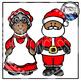 Santa Clipart (Christmas Clipart)