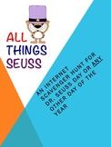 All Things Seuss:  An Internet Scavenger Hunt