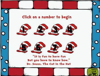 All  Things Seuss on the  Web Freebie