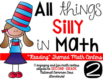 All Things Silly in Math-second grade math centers