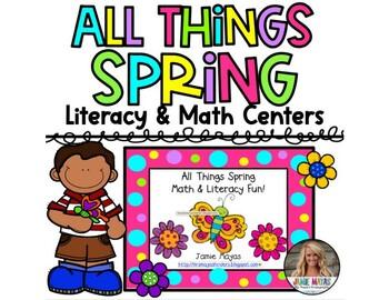 All Things Spring Math & Literacy Fun!