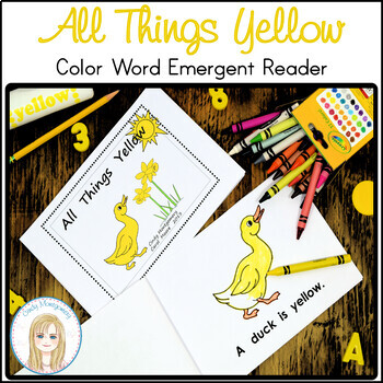 All Things Yellow Emergent Reader