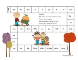 All Through the Year Kindergarten Sight Words Game Bundle