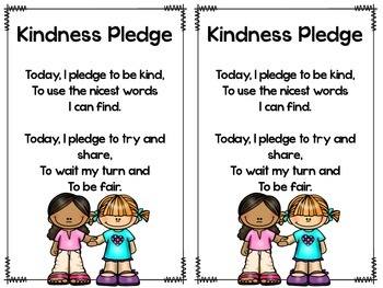 All Through the Year Pledges, Songs & Poems