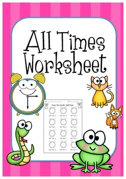 All Times worksheet