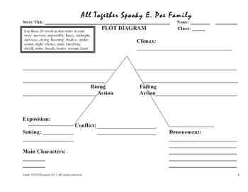 Tell-Tale Heart: All Together Spooky E. Poe Family Writing Lesson Plan