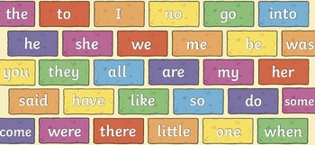 All Tricky Words Word Wall Bundle