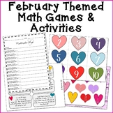 February Math Review Activities