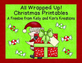 All Wrapped Up! Christmas Printables {Freebie}