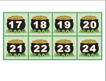 All Year Calendar Squares